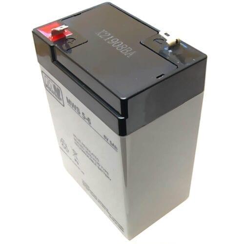 Acumulator AGM, 5Ah, 6V, seria MW Power, MWS5-6