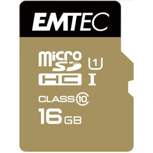 Card de memorie Micro SD Emtec, 16GB, CL10, HC