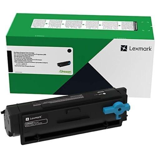 Cartus toner Lexmark 55B2X00, black, 20k pagini, Compatibl cu MS431dn, MX431adn