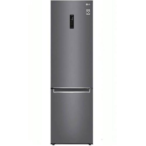 Combina frigorifica LG GBB62DSHMN, No Frost, 384 L, 203 cm, Clasa A++, Inox