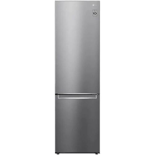 Combina frigorifica LG GBB62PZJMN, No Frost, 384 L, 203 cm, Clasa A++, Argintiu