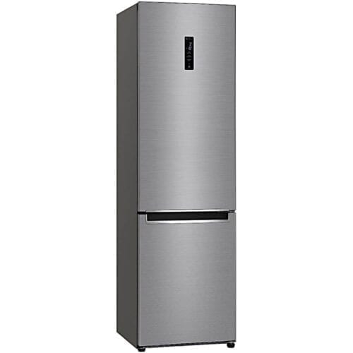 Combina frigorifica LG GBB72PZDZN, 384 l, No Frost, Display Extern, Clasa A++, H 203 cm, Argintiu