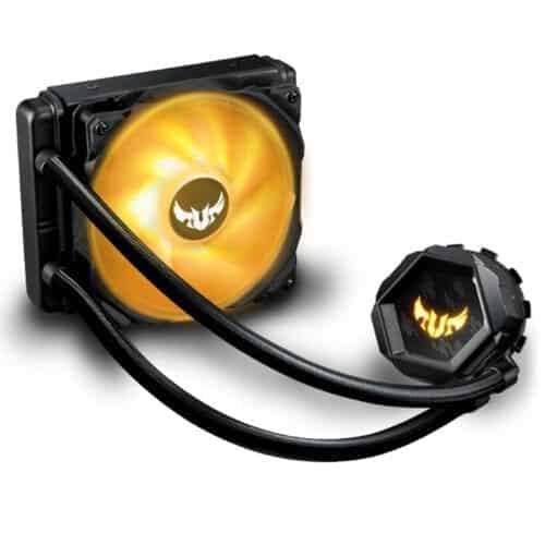 Cooler procesor all-in-one TUF GAMING LC 120 RGB, pompa si ventilatoare cu iluminare ARGB