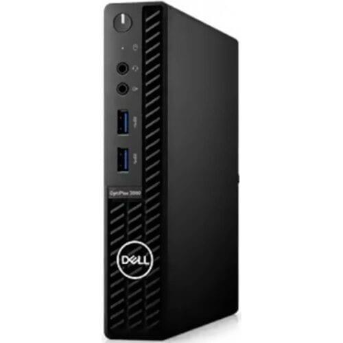 Desktop Dell Optiplex 3080 MFF, Intel Core i3-10100T, 256GB SSD 8GB, Wi-Fi, Mouse+Tastatura, Windows 10 Pro, DOP3080I38256WP