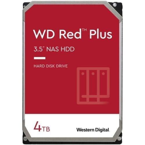 HDD WD Red™ Plus 4TB, 5400RPM, 128MB cache, SATA-III, WD40EZAZ