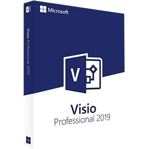 Licenta electronica Microsoft Visio Professional 2019