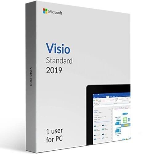 Licenta electronica Microsoft Visio Standard 2019