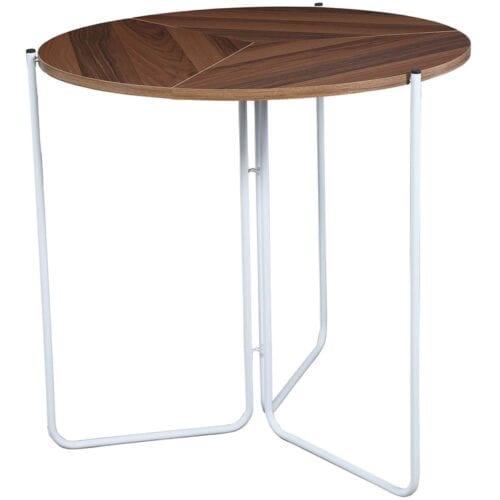 Masa dining pliabila, Heinner Home, 100 cm, culoare Nuc, HR-WA-BA100