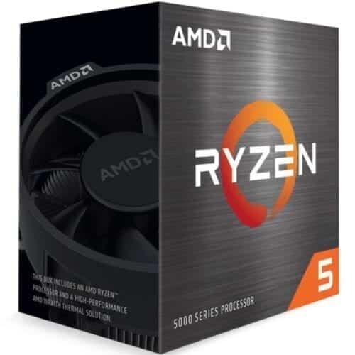 Procesor AMD Ryzen 5 5600X, 3.7GHz/4.6GHz AM4, 35MB, Wraith Stealth, no cooler