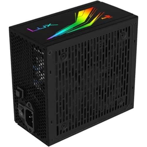 Sursa Aerocool Lux RGB 550, 550W, 80 PLUS Bronze