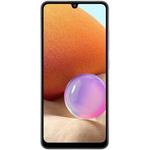 Telefon mobil Samsung Galaxy A32, Dual SIM, 128GB, 4G, Alb, SM-A325FLWG