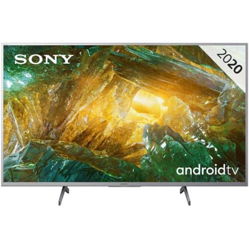 Televizor LED Sony KD49XH8077SAEP, 123 cm, Smart Android, 4K, Ultra HD