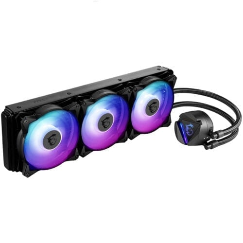 Cooler Procesor MSI MAG CORELIQUID 360R ARGB, compatibil AMD/Intelk, 3 ventilatoare, 500 - 2000 RPM