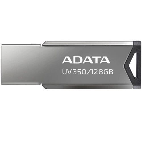 Memorie USB ADATA AUV350, 128GB, USB 3.2, Silver