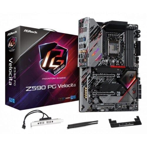 Placa de baza Asrock Z590 Phantom Gaming Velocita, socket 1200