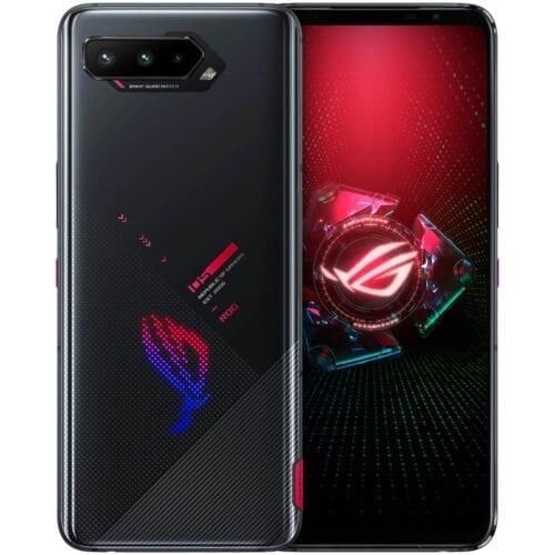 Telefon mobil ASUS ROG Phone 5, Dual SIM, 256GB, 16GB RAM, 5G, Black, ZS673KS-1A014EU