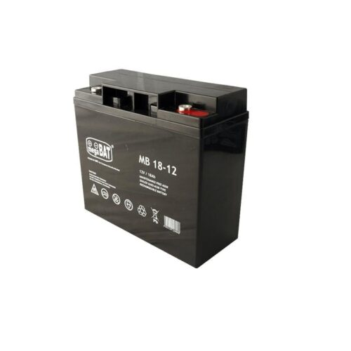 Acumulator VRLA AGM fara intretinere MB18-12; Capacitate:18Ah; Volataj: 12V; Terminal: