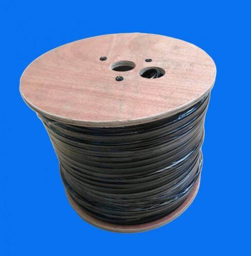 Cablu coaxial RG59 CCA cu alimentare Hikvision