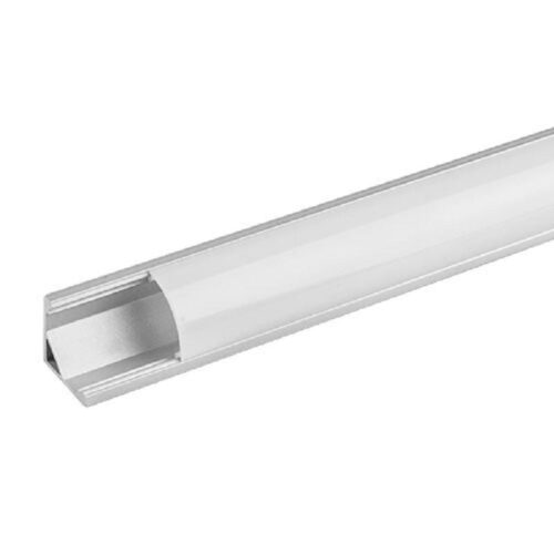 Profil de aluminiu pentru benzi flexibile cu led-uri Ultralux