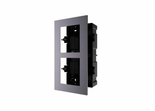 Panou frontal pentru 2 module de videointerfon modular Hikvision DS-KD-ACF2;