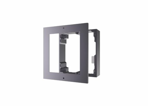Panou frontal pentru un modul videointerfon modular Hikvision DS-KD-ACW1; montare