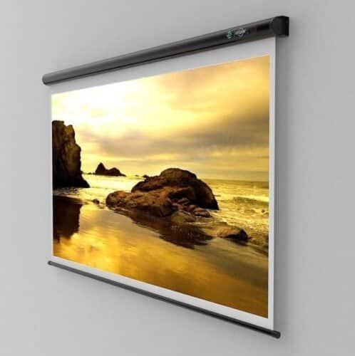 Ecran de proiectie montabil pe perete Sopar New Slim 155
