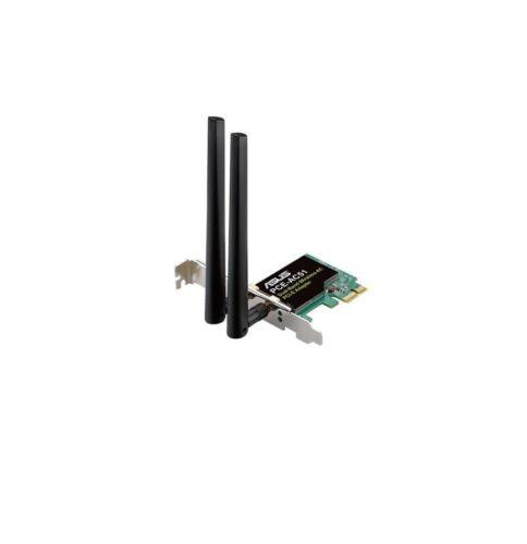 Adaptor Asus Wireless Dual-Band AC750 pe interfață PCI-e