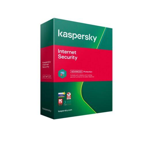 Licenta retail Kaspersky Internet Security - anti-virus pentru PC