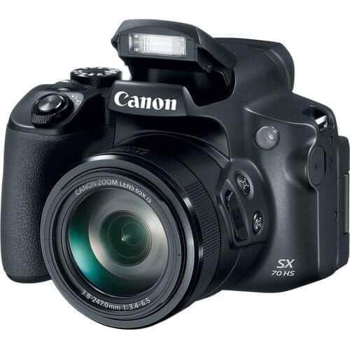 Camera foto Canon PowerShot SX70 HS Black