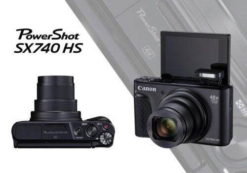 Camera foto Canon PowerShot SX740HS BK