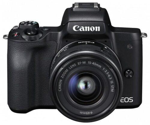 Camera foto Canon EOS M50 Black KIT EF-M15-45 IS STM