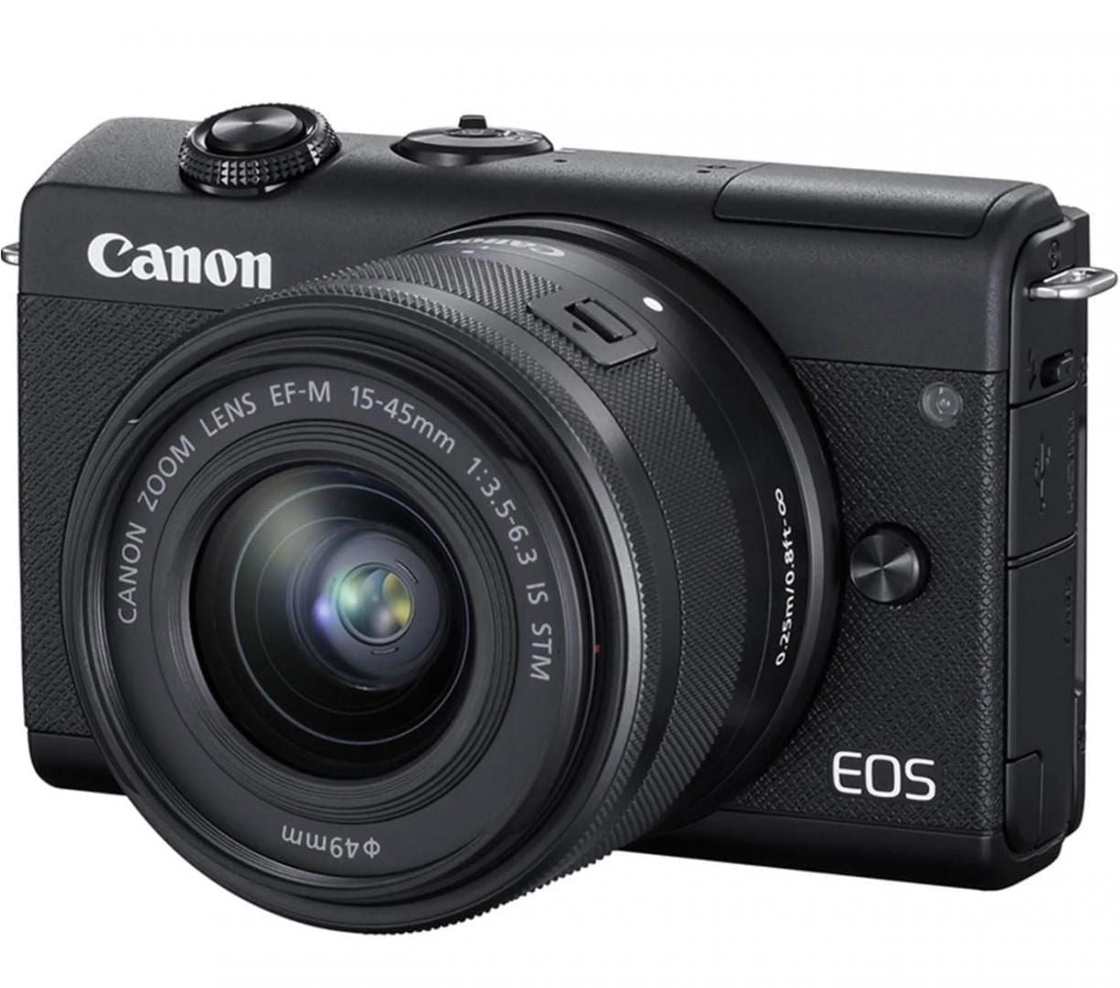 Camera foto mirrorless Canon EOS M200 kit EF-M 15-45mm f/3.5-6.3
