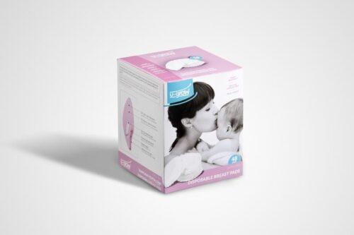 Tampoane Anti Lactatie Cutie 48 buc U-Grow U1051-PAD