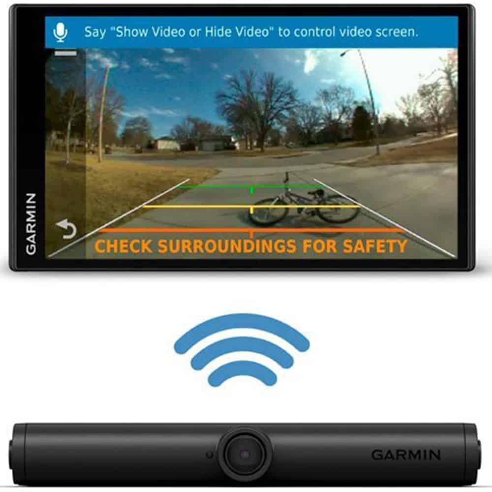 Camera spate Wireless Garmin BC 40, rezistanta la apa, IPX7, 13 metri, 010-01866-11