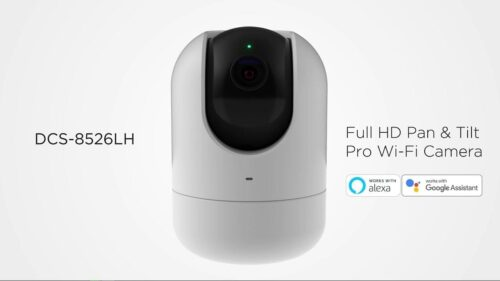 D-link Full HD Pan and Tilt PRO Wi-Fi Camera