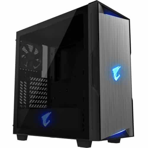 Carcasa Gigabyte Aorus AC300G, RGB, Middle Tower, HDMI, USB 3.1 Type-C, Negru