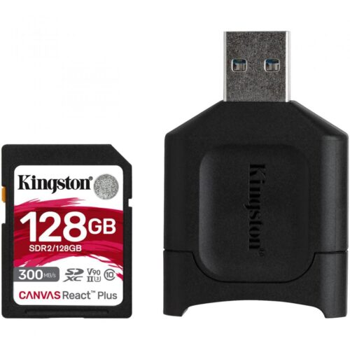 Card reader Kingston React PLUS + SD Reader 128GB