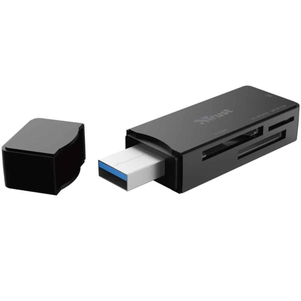 Card reader Trust Nanga, USB 3.1, M2, MS/MSPRO, MicroSD, SD/MMC