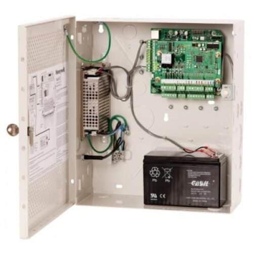 Centrala de acces Honeywell NetAXS-123 NX1MPS suporta 2cititoarepentruosingura usa