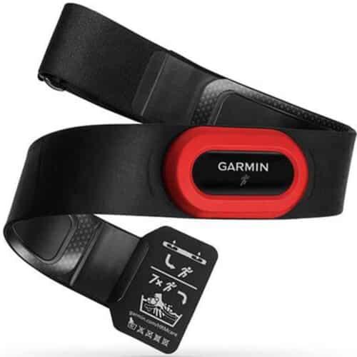 Centura Garmin HRM-Run, rezistent la apa 5 atm, Black / Red