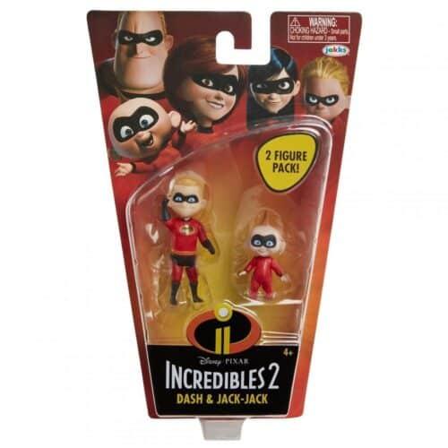 "Incredibles 2 4"" Basic Figures - Dash w/Jack-Jack"