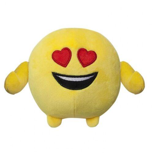 Jucarie de plus Emoji Emoticon (In love) 18 cm