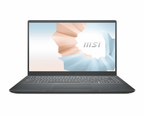 "Laptop MSI Modern 14"" FHD I3-10110U  8GB 256 GB"
