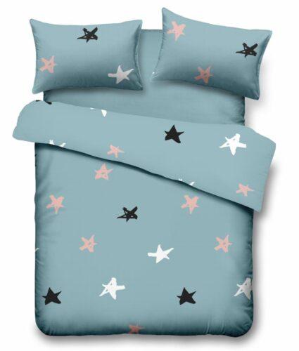 Lenjerie  king size Microfibra Stars