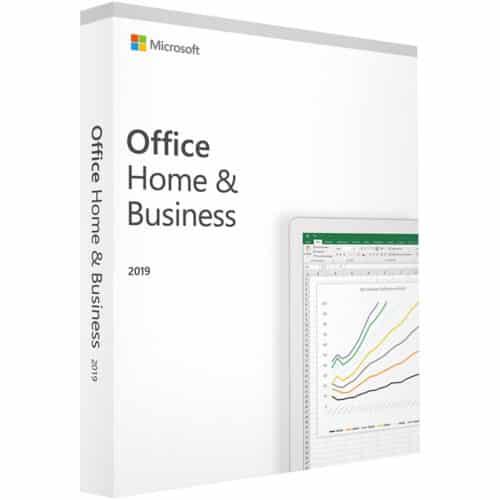 Licenta electronica Microsoft Office Home and Business 2019, pentru Windows/Mac, Retail