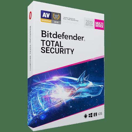 Licenta Retail Bitdefender Total Security 2020