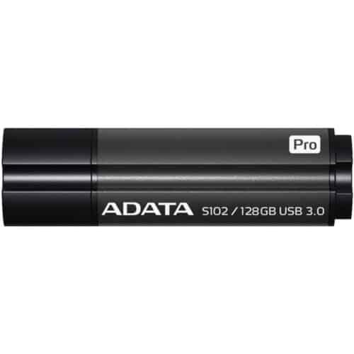 Memorie USB ADATA DashDrive Elite S102 Pro, 128GB, USB 3.0, Grey