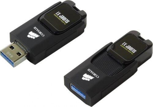 Memorie USB Corsair Voyager Slider X1 64GB USB 3.0 Black