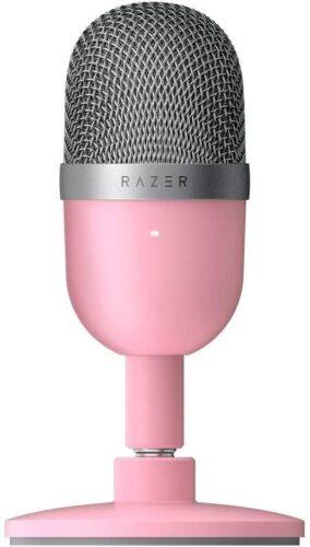 Razer Seiren Mini - Ultra-Compact Condenser Microphone - Quartz