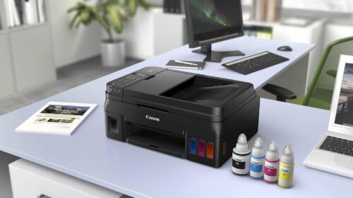 Multifunctional inkjet color CISS Canon PIXMA G4411